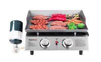 Royal Gourmet BBQ Propane Gas Grill 2 Burner Tabletop Camping Portable PD1201