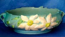 "Roseville American Art Pottery CLEMATIS Large 6-10"" Centerpiece Bowl"