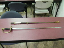 U.S. Staff & Field Officers Sword 1870-1876 Post Civil War