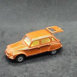Citroen Dyane Bronze 2515 CORGI Juniors Die-Cast Vintage Vehicle 1982 Mettoy