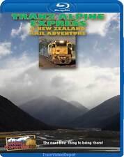 Tranz Alpine Express New Zealand Adventure BLURAY
