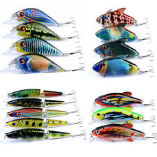 16PCS Fishing Lure Wobbler Isca VIB Crankbait Fishing Tackle Colorful Paint Bass