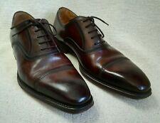 Magnanni men's leather Oxford shoes burnished brown size EU42 UK8 US9 lace-up