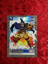 Bandai Digimon Trading Card 14 of 32 Wizardmon Series 2 Silver Stamp