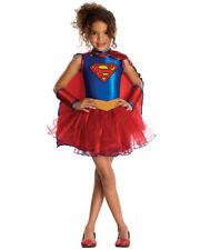 Nwt Girls Size Small (4-6) Rubies * Supergirl * Glitter Tutu Halloween Costume