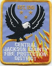CENTRAL JACKSON COUNTY MISSOURI MO Fire Protection District FIRE PATCH