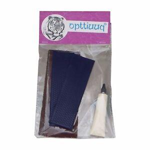 Opttiuuq FrontFoot Cricket Bat Toe Guard Repair Kit Set. Navy