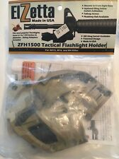 Elzetta ZFH1500 Tactical Flashlight Holder Mount NEW #t119