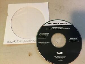 Dell Microsoft Windows XP Home Edition Reinstallation CD (Operating System)