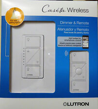 Lutron Caseta Wireless Smart Light Dimmer Switch and Remote White (P-PKG1W-WH-R)