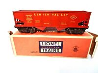Rare Vintage Lionel #6456-75 Lehigh Valley Red Hopper Car- Yellow Print-wth Box!