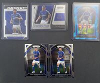 2020/21 Panini Prizm Premier League Soccer -22 Card EVERTON LOT; Blue Cracked