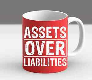 Assets Over Liabilities Auditor Funny Gift Office Gifts Tax Auditor Coffee Mug