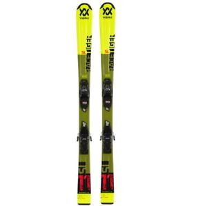 2020 Volkl Racetiger JR Yellow Ski w/ vMotion 7.0 Bindings-140