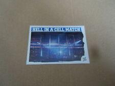 Carte catch Slam Attax Mayen 2010 Bleu - Hell In A Cell Match