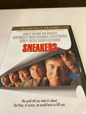 Sneakers (DVD, 2003, Collectors Edition) Robert Redford --------- MINT CONDITION
