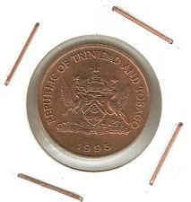 Trinidad & Tobago: 5 Cents 1995 VF+