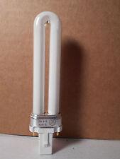 Lot of 4  7 watt compact fluorescent lamp 120V 2 pin socket Warm (4100K) Color