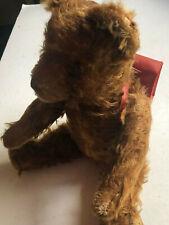 Großer Teddy mit Charakter  - Schulbär  - ca 60er Jahre  - Größe 33 cm