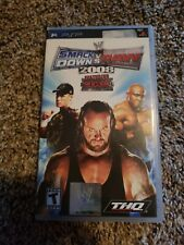 COMPLETE WWE SmackDown vs. Raw 2008 Featuring ECW (Sony PSP, 2007)