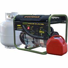 Sportsman 2000 Watt Dual Fuel Power Generator Gas LP Powered Portable RV Camping