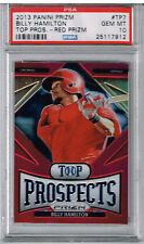 2013 Panini Prizm Billy Hamilton Top Prospects Red Prizm PSA 10