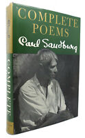 Carl Sandburg COMPLETE POEMS   1st Edition Early Printing