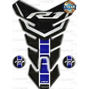 "Paraserbatoio per Yamaha R1 60° Anniversario ""Nevada blu"""