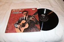 John Williams LP-FERNANDO SOR-20 STUDIES FOR GUITAR    MONO