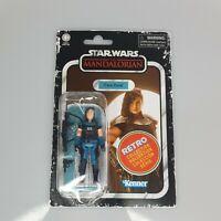 "Cara Dune Star Wars The Mandalorian Retro Figure 3.75"" Hasbro Gina Carano NEW."