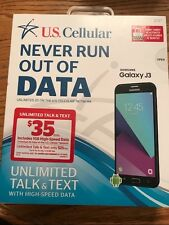 US CELLULAR SAMSUNG GALAXY J3 BRAND NEW CELL PHONE