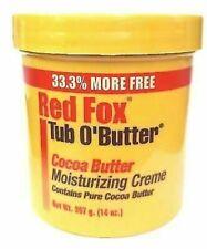 Red Fox Tube O'Mangue Beurre de Cacao Hydratante Crème (398ml)