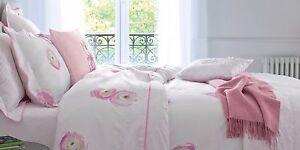 NWT NEW Yves Delorme Etrevert Etrerose or Etrebleu UK standard sham boudoir deco