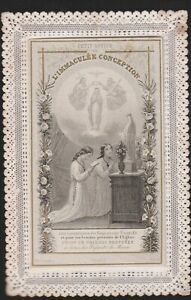 """canivet ouvrant """" Immaculée conception"""" Letaille pl n°1"""