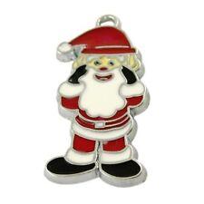 5 pieces Santa Claus Zinc Alloy Charm Pendants - A0607