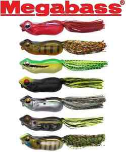 "Megabass Big Gabot Topwater Frog 3"" 3/4 oz. (Select Color)"