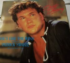 Patrick Swayze ‎- She's Like The Wind - Original 45 Single Record  Dirty Dancing