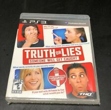 Truth or Lies Sony Playstation 3 PS3 NEW
