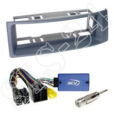 JVC VOLANTE Interface Renault Megane Scenic senza pannello radio mascherina grigio scuro a partire dal 2000