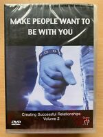 Make People Want To Be With You DVD Self Help Confidence Documentary