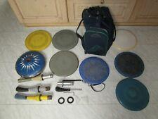 Eisstock Ebra 7 Platten 3 Stiele Umhängetasche Ersatzteile