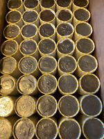 5 Unsearched Rolls of Half Dollars-Coin Shortage at Banks-Buy More Save More!!