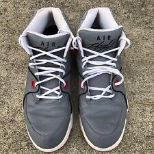 Nike Air Flight 89 iD Men's Size 15 Hawks Gray 706736-991