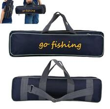 Fishing Rod Case Bag Holder Travel Organizer Tackle Tool Storage Double Layer SD