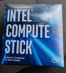 Intel Compute Stick, Core m3, 64GB, 4GB RAM, HDMI, STK2M3W64CC, USB-C, charger