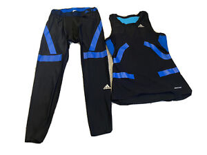 Adidas Running Climate Cool Tech Fit Vest & Leggings Mens XL