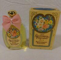 AVON Vintage California Perfume Anniversary Keepsake Charisma Cologne Full