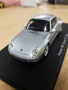 Spark Porsche 911 993 Carrera 2s Silver S2091 1/43 scale
