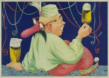 AN ENTERTAINER WITH BEER, Germany, date unknown, 250gsm A3 Poster