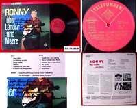 LP Ronny: Über Länder und Meere (Telefunken SLE 14 384) Signiert Widmung